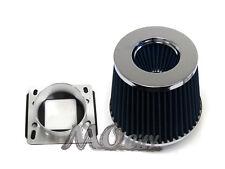 Air Intake MAF Sensor Adapter + Filter Kit for BMW 83-91 E30 3-Series 318 325 90