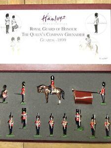 Britains:  Boxed Set 00105 - Royal Guard Of Honor - Grenadier Guards, 1899