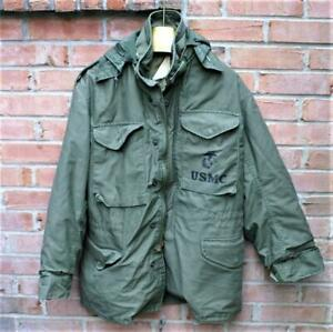 Vintage  USMC M-65 Cold Weather Field Jacket / Size - Small Regular