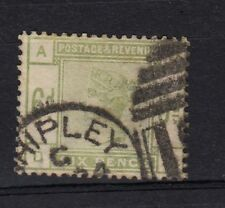 GREAT BRITAIN. STAMP , YEAR 1883 6d  green used, .