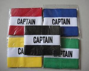 Captain Armband - Youth / Adult Size Soccer Football - New