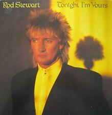 ROD STEWART - TONIGHT I'M YOURS  - LP (ORIGINAL INNERSLEEVE)