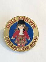 Doll And Pin Collector 2002 Tour Guide Disney Pin LE (B6)