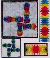 Kwik Jeli Cross Roads - foundation paper pieced quilt PATTERN - 6 sizes