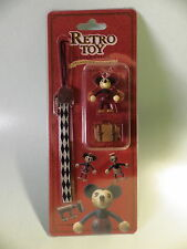 Disney MICKEY  Retro Toy collection import jap neuf sous blister mascot strap