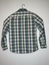 21 Men An American Brand Men's Green Plain Long Sleeve Shirt