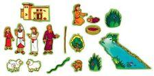 Beginners Bible Baby Moses Stories Felt Figures Flannel Board Little Folk Visual