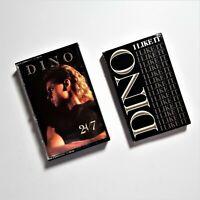 Dino 24-7 Cassette Tape 1989 Island Records & I Like It Cassette Single