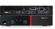 Lenovo ThinkCentre m700 Tiny Desktop - i3-6100T 3.2GHz/4GB DDR4/500GB 10HY001XUS