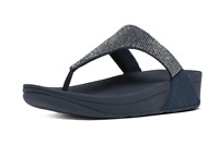 Fitflop Slinky Rokkit Super Navy Women's Sandal Sz 9 US 2736