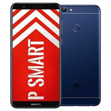 "New 5.65"" Huawei P Smart (2018) Dual-SIM 32GB Blue Factory Unlocked 4G SIMFree"