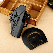 Quick Draw Polymer Right Handed Waist Paddle Belt Holster for Gun Glock 17 18 19