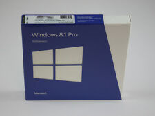 Microsoft Windows 8.1 Professional - 32 / 64 Bit - DEUTSCH - BOX - RETAIL - NEU
