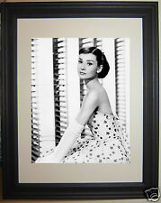 Audrey Hepburn Framed Matted Photo Picture #n1