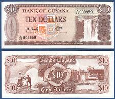 GUYANA 10 Dollars  (1992)  UNC  P.23 f