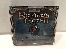 Baldur's Gate II 2: Shadows of Amn (PC, 2000) 4 disc in case pccd game tested