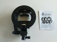 Godox S-TYPE Bracket for Speedilite for Accessories ( Bowens Mount ) UK SELLER