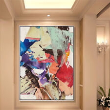 Mintura Hand Painted Abstract Oil Painting On Canvas Pop Picture Modern Wall Art