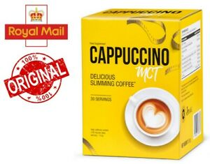 Cappuccino MCT reduces fat, calorie burning, shape body, weight loss, shake