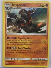 Pokemon Rhyperior Holo Burning Shadows #67/147