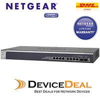 NETGEAR ProSAFE XS708T 8 Port 10 Gigabit Ethernet Smart Managed Switch