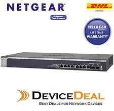 NETGEAR ProSAFE XS708T 8 Port 10 Gigabit Ethernet Smart Managed Switch