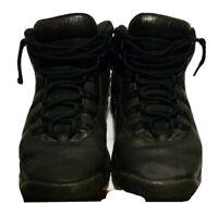 Nike Air Jordan 10 X Retro NYC GS SIZE 7Y  Black Dark Grey OG 310806-012
