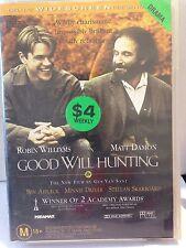 GOOD WILL HUNTING - ROBIN WILLIAMS, MATT DAMON (R4-PAL-GOOD) - DVD #520
