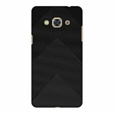 Carbon Fibre Patterned Mobile Phone Cases, Covers & Skins for Samsung Galaxy J3