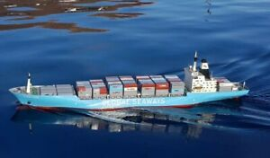RC Container Ship With Lights, Smoke and Bow Thruster