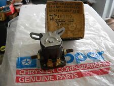 NOS MOPAR 1961 VALIANT LANCER SOLENOID STARTER WITH AUTOMATIC TRANSMISSION