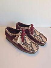 Concepts x Clarks Snakeskin Wallabee Moc Men's Shoes Size 8.5 CNCPTS RARE