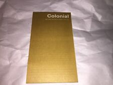 Vintage 1968 Colonial National Historical State Park Virginia Brochure & map