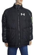 Under Armour Men's Puffer ColdGear Storm Duck Down Black Jacket Size 2XL NEW