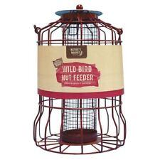 Natures Market Metal Hanging Wild Bird Seed Nut Feeder
