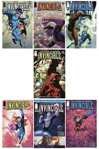 INVINCIBLE 49 52 55 58 59 70 71 Lot 1st Print Image Comic Robert Kirkman
