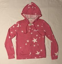 New PINK Victoria's Secret full zip hoodie STAR logo super soft size medium