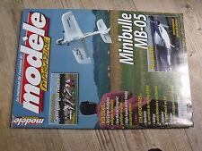 $$ Modèle magazine N°624 plan encarté avion Minibulle MB-05  Sky Cat  Gee Bee
