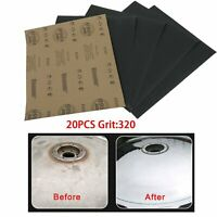 "1000 thru 7000 grit 3/"" X 5 1//2/"" 6 Sandpaper Wet Dry 48 pc ea"