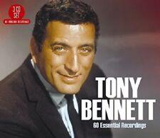 TONY BENNETT - 60 ESSENTIAL RECORDINGS  3 CD NEUF