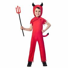 Devil Boy 3-4 Years Costume Halloween Angels Demons Fancy Dress