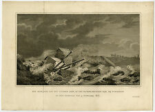 Antique Print-WATERLANDSE DIJK-DURGERDAM-AMSTERDAM-Oosterhuis-Nieuwhoff-ca. 1825