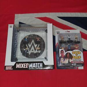 WWE Heroclix Starter Sets MIXED MATCH CHALLENGE ROCK 'N' SOCK CONNECTION Job Lot