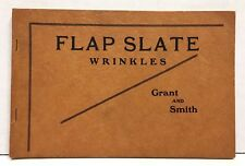 Flap Slate Wrinkles By Grant and Smith