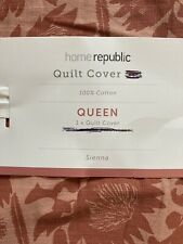 Home Republic Sienna Multi Quilt Cover Queen Size