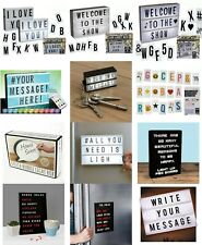 Light Box Message Board Peg Board Light Up, Spare Letters Cinema Wedding Party