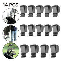 14Pack Golf Club Organizers Putter Bag Clip Holder Iron Driver Protector Pretty