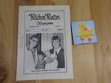 Kitchen Klatter Magazine July 1983 Wheat Weaving Wagon Train