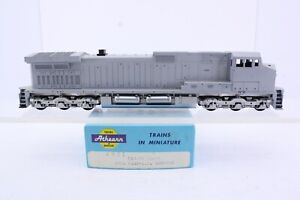 Athearn HO Scale Undecorated C44-9W Diesel Dummy Locomotive Santa Fe Version