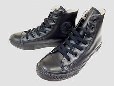 aa48f3ecf52 Converse Chuck Taylor Black Rubber SNEAKERS Size US 2 Junior Shoes 344740C